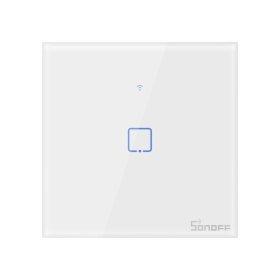 Išmanusis jungiklis SONOFF T2EU1C-TX, 1 kanalo, 480W, 230V, valdomas liečiamu mygtuku, programėle, Wi-Fi, IM190314015