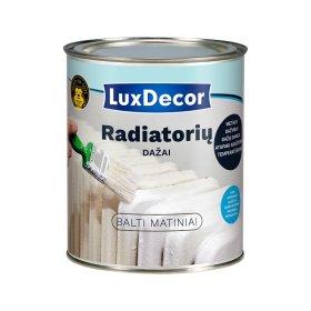 Emaliniai dažai radiatoriams LUXDECOR