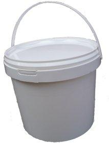 Plastikinis maistinis kibirėlis