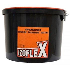 Bitumo-kaučiuko antikorozinė mastika  IZOFLEX 8 kg ,
