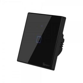 Išmanusis jungiklis SONOFF T3EU1C-TX, 1 kanalo, 480W, 230V, valdomas liečiamu mygtuku, programėle, Wi-Fi, IM190314018