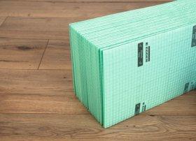 Paklotas EGGER SILENZIO EASY, storis 2 mm, 1,25 x 12 m (15 m2), tinkamas šildomoms grindims, Vokietija
