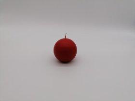 Apvali žvakė K3, raudonos sp., skersmuo 80 mm., 1 vnt.