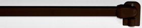 Karnizo vamzdis MARDOM, mini, daugiafunkcinis, reguliuojamas ilgis 60-110 cm, rudos spalvos, 1 pak.- 2 vnt., Lenkija, A190500006, N