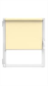"""Ritininė užuolaida MARDOM Design, 98 x 150 cm, """"CLICK"""" sistema, kreminės spalvos, Lenkija"""