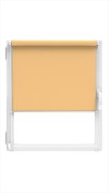 """Ritininė užuolaida MARDOM Design, 56/57 x 150 cm, """"CLICK"""" sistema, tamsaus smėlio spalvos, Lenkija"""
