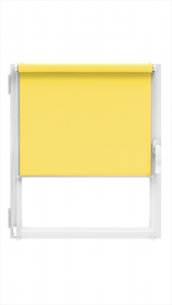 """Ritininė užuolaida MARDOM Design, 51/52 x 150 cm, """"CLICK"""" sistema, geltonos spalvos, Lenkija"""