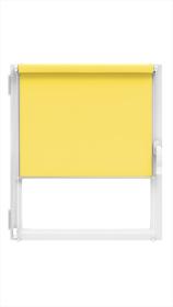 """Ritininė užuolaida MARDOM Design, 114 x 150 cm, """"CLICK"""" sistema, geltonos spalvos, Lenkija"""