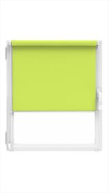 """Ritininė užuolaida MARDOM Design, 68 x 215 cm, """"CLICK"""" sistema, šviesiai žalios spalvos, Lenkija"""
