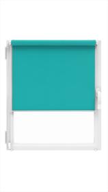 """Ritininė užuolaida MARDOM Design, 56/57 x 150 cm, """"CLICK"""" sistema, turkio spalvos, Lenkija"""