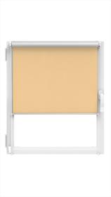 """Ritininė užuolaida MARDOM Silver, 51/52 x 150 cm, """"CLICK"""" sistema, riešuto spalvos, Lenkija"""