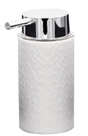 Muilo dozatorius RIDDER CRIMP, pastatomas, baltas, ABS, 2013501