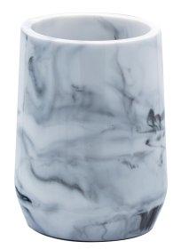 Stiklinė RIDDER TOSCANA, pastatoma, baltas marmuras, poliresinas, 2154101