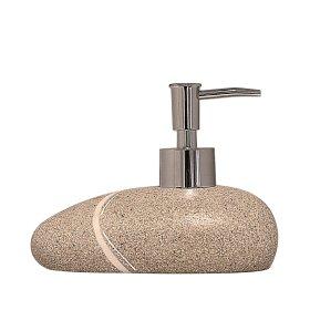 Muilo dozatorius RIDDER LITTLE ROCK, pastatomas, smėlio spalvos, 22190409