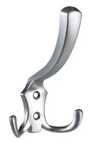 Rūbų kabliukas dvig, did, HETTICH, aliuminio sp. 77x125x77, 5mm, 9207924