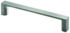 Baldų rankenėlė HETTICH, nerūd. pl. imitacija HS 128mm, 7617