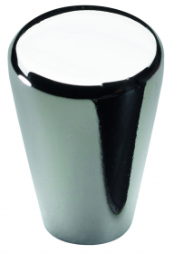 Baldų rankenėlė rutulio formos HETTICH, chromuotas D15mm, 15986