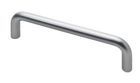 Baldų rankenėlė HETTICH, plastikas, aliuminio sp. HS 96mm, 9203244