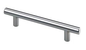 Baldų rankenėlė HETTICH, plastikas, aliuminio sp. HS 96mm, 9203257
