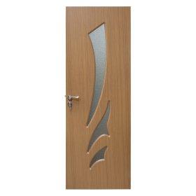 PVC durų varčia su stiklais HELOST