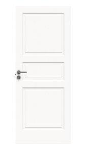 Durų varčia  STYLE 1 Matmenys 625 x 2040 x 40 mm, su užlaida, dažyta, baltos spalvos.