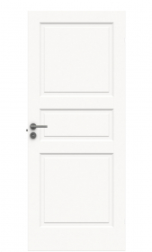 Durų varčia  STYLE 1 Matmenys 825 x 2040 x 40 mm, su užlaida, dažyta, baltos spalvos.