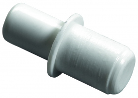 Lentynos laikiklis HETTICH, pak. 20 vnt. 5/6mm, baltos sp., 9116206