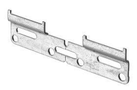 Spintelių pakabinimo elementas HETTICH, pak. 2 vnt. 130mm, cinkuotas, 89175