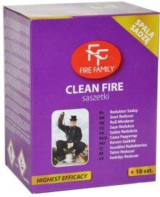 Kaminų valymo milteliai FIRE FAMILY Kaminų valymo milteliai