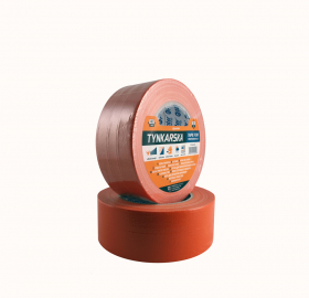 Tinkavimo juosta PAINTER, 48 mm x 50 m, oranžinės sp., išorės darbams, POM0647