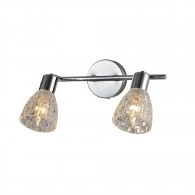Kryptinis šviestuvas DELUXE YD-WU8193-2L, 2 x E14, 320 x 90 x 200 mm, A170510169