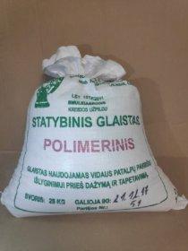 Polimerinis - lateksinis glaistas SAR, su kreidos užpildu, 25 kg (maiše)