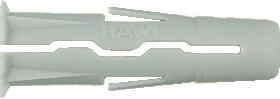 Universalus kaištis RAWLPLUG UNO, 10 x 36 mm, 20 vnt.