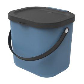 Šiukšliadėžė rūšiavimui ROTHO ALBULA, 6 l., mėlyna