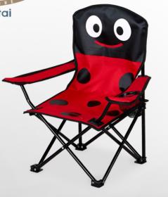 Sulankstoma vaikiška kėdė FC36, 35x35x60cm, raudona