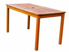 Medinis stačiakampis stalas VIVIAN  73,5x75x135cm