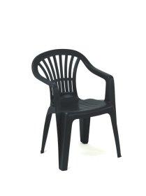 Plastikinė kėdė ALTEA, žalios spalvos, maks. apkrova iki 120kg