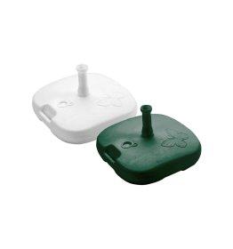 Plastikinis skėčio stovas BASE TOP žalios spalvos 18l