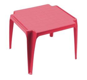 Plastikinis vaikiškas staliukas TAVOLO BABY, rožinės spalvos, maks. apkrova iki 35kg