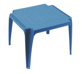 Plastikinis vaikiškas staliukas TAVOLO BABY, mėlynos spalvos, maks. apkrova iki 35kg