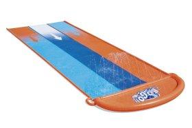 Pripučiama trivietė vandens čiuožykla BESTWAY Triple slide, 4,88m., 52329