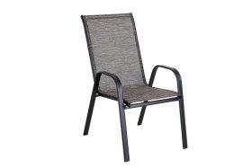 Kėdė NOVELLY HOME SC - 091, plienas, tekstilenas, ruda, matmenys: 55,5 x 72,5 x 95 cm., maks. apkrova iki 120kg