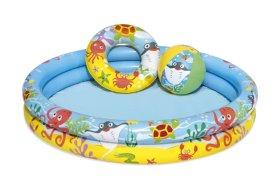 Pripučiamas žaidimų baseinas BESTWAY  skersmuo 1.22m x aukštis 20cm,  51124