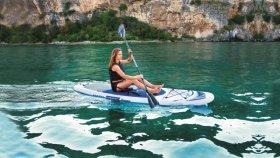 Irklentė BESTWAY OCEANA su priedais,rankinis siurblys, kojų atrama, sėdynė, kelioninė krepšys, pakabukas, 3.05mx 84cmx12cm, 65303