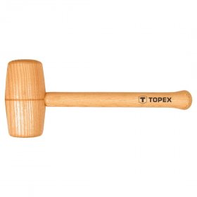 Medinis apvalus plaktukas TOPEX 02A057