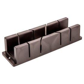 Plastmasinė dėžutė kampui pjauti TOPEX 10A842 233 x 53 x 56 mm.