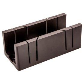 Plastmasinė dėžutė kampui pjauti TOPEX 10A844 295 x 80 x 70 mm.