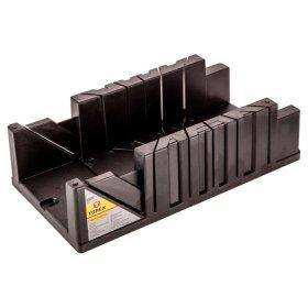 Plastmasinė dėžutė kampui pjauti TOPEX 10A846 320 x 120 x 75 mm.