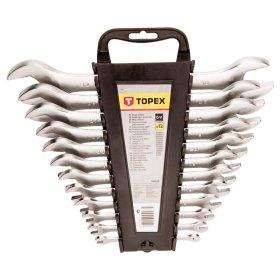 Plokščių raktų rinkinys TOPEX 35D657