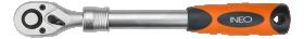 Teleskopinė terkšlinė rankena galvutėms NEO 08-515